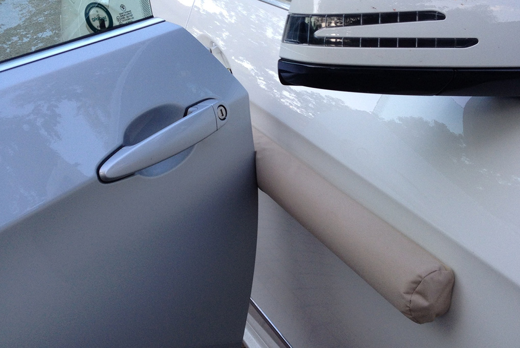 Doordefender Protects Your Vehicle Doors When You Park