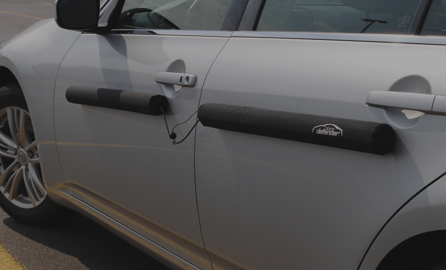 Driven To Protect & Doordefender | Protects your vehicle doors when you park.
